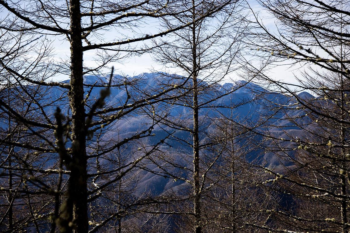 木曽駒ヶ岳が見えてきた
