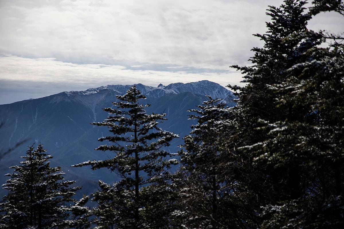 木曽駒ヶ岳に宝剣岳も少し