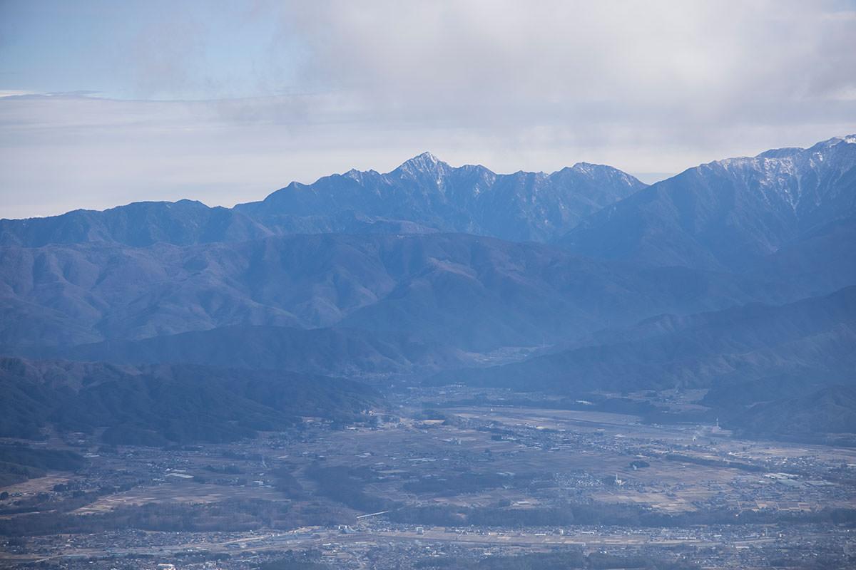 8合目から見る甲斐駒ヶ岳
