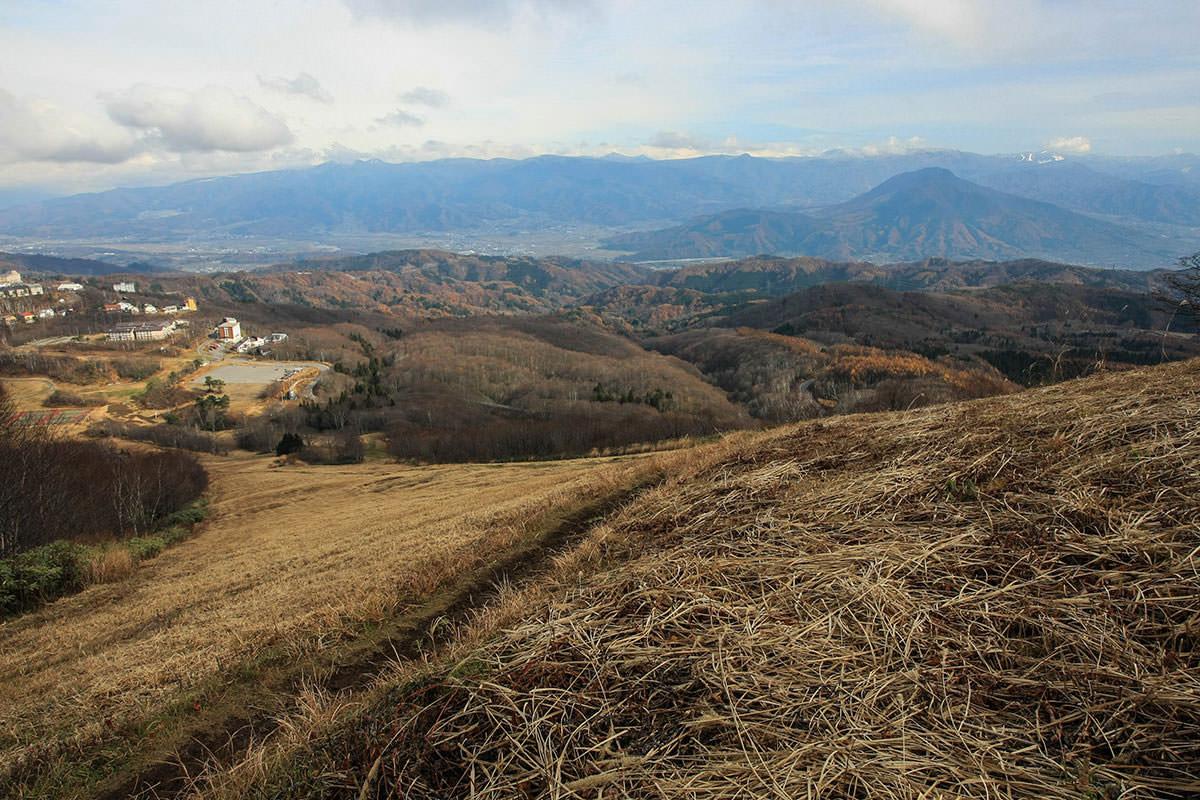 【斑尾山】登山百景-振り返ると眺めが良い