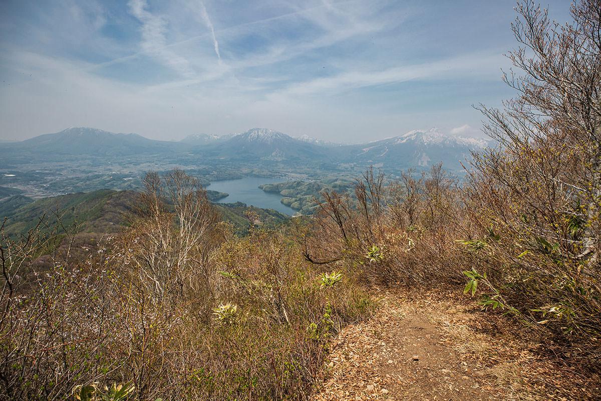 【斑尾山 菅川】登山百景-このルートで一番眺めの良い場所