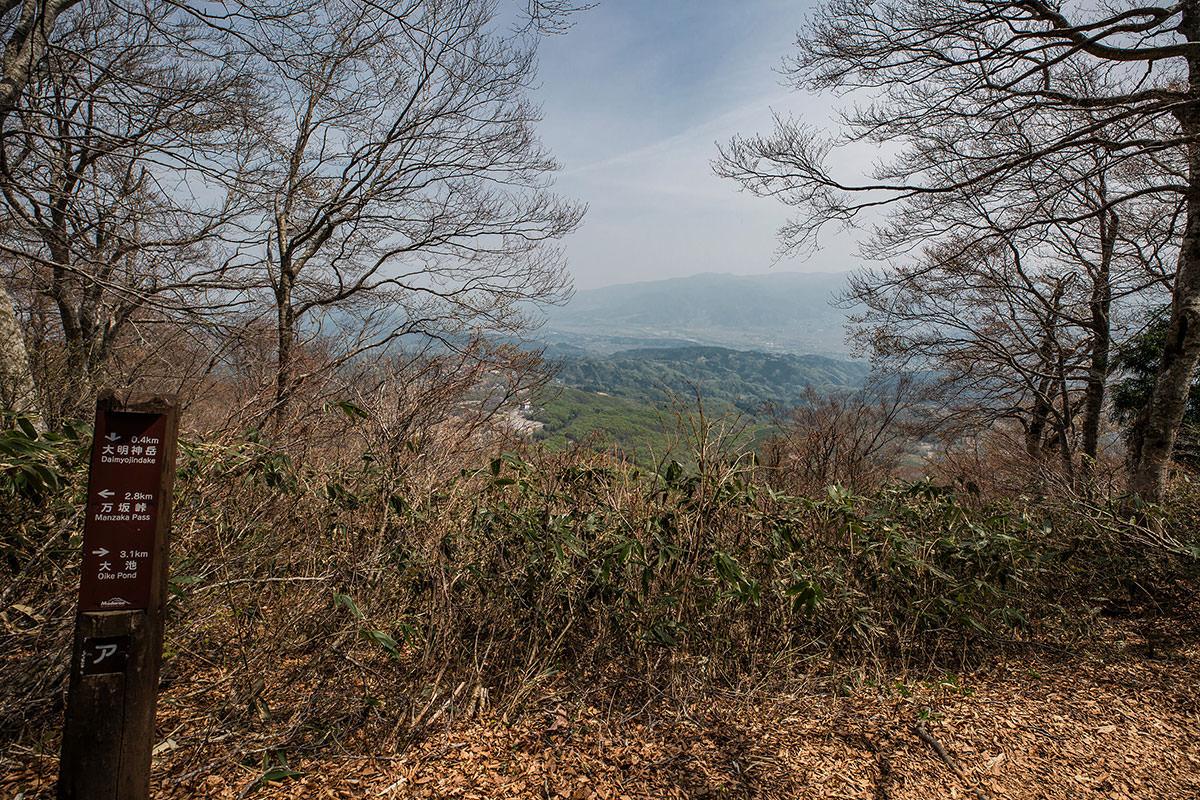 【斑尾山】登山百景-山頂から東側の眺め