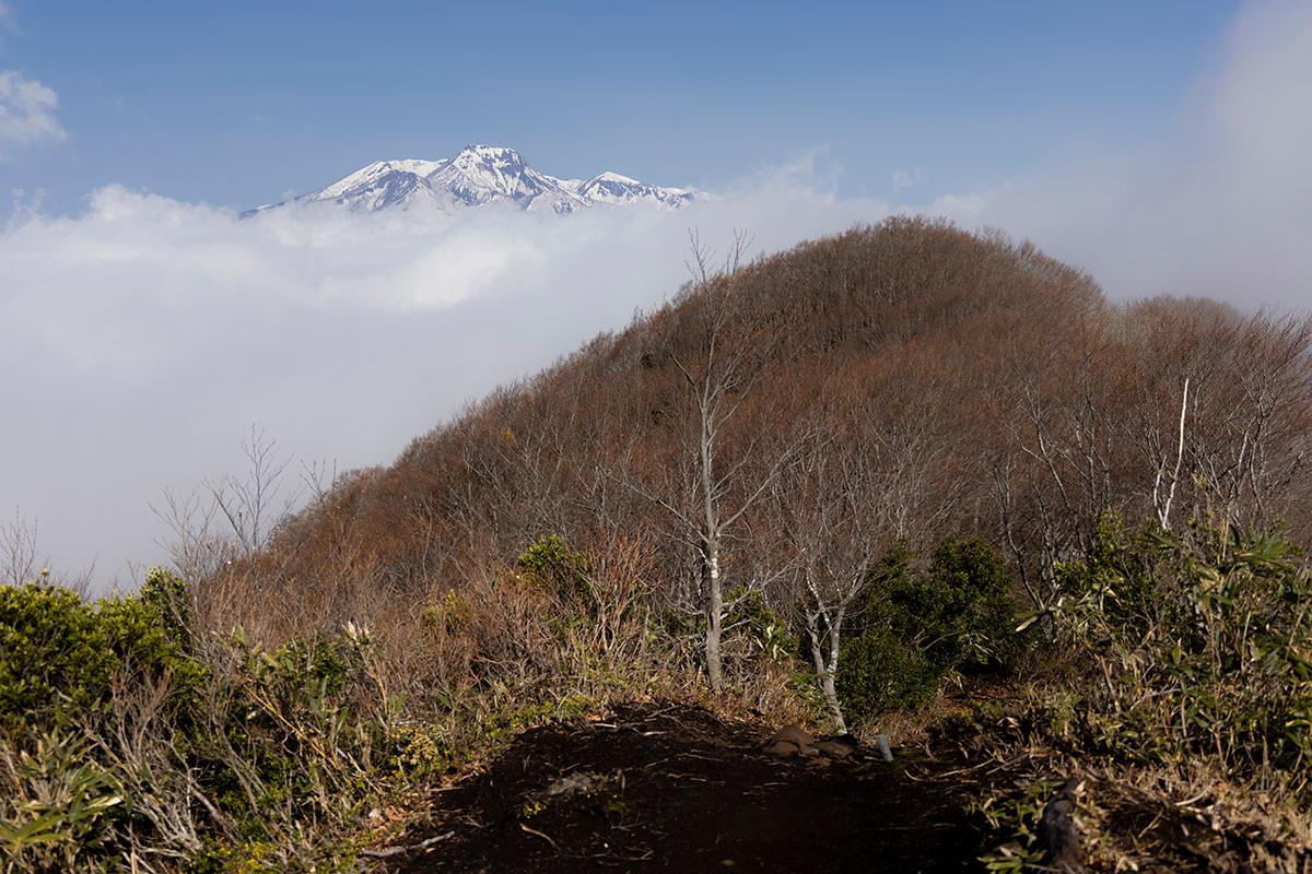 妙高山も見えるようになった