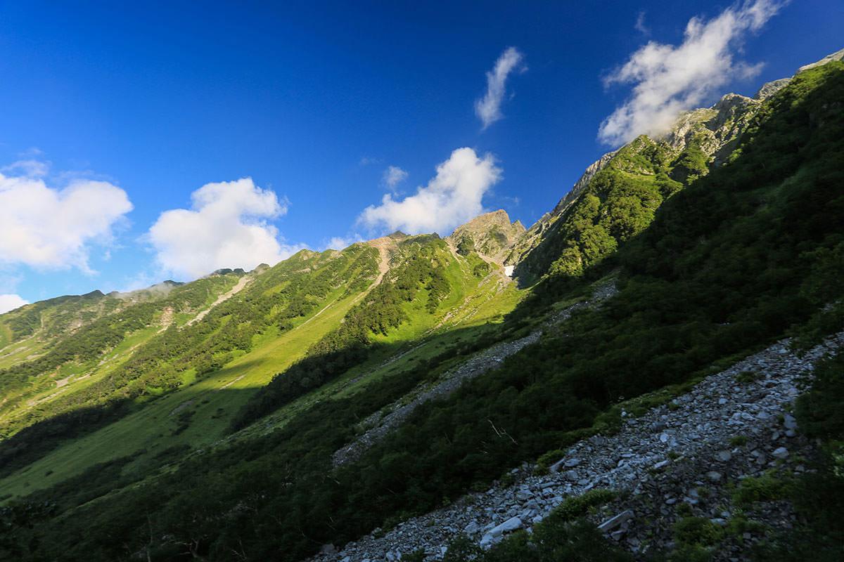 【前穂高岳】登山百景-西穂高岳の稜線