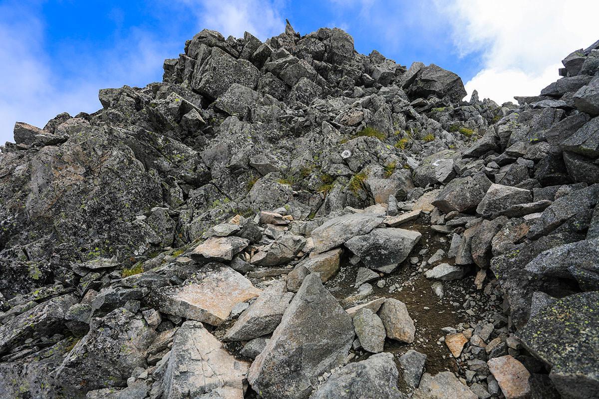 【前穂高岳】登山百景-山頂はそこ