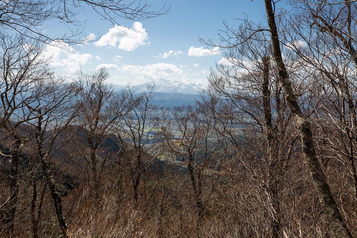 妙高山への眺めがある