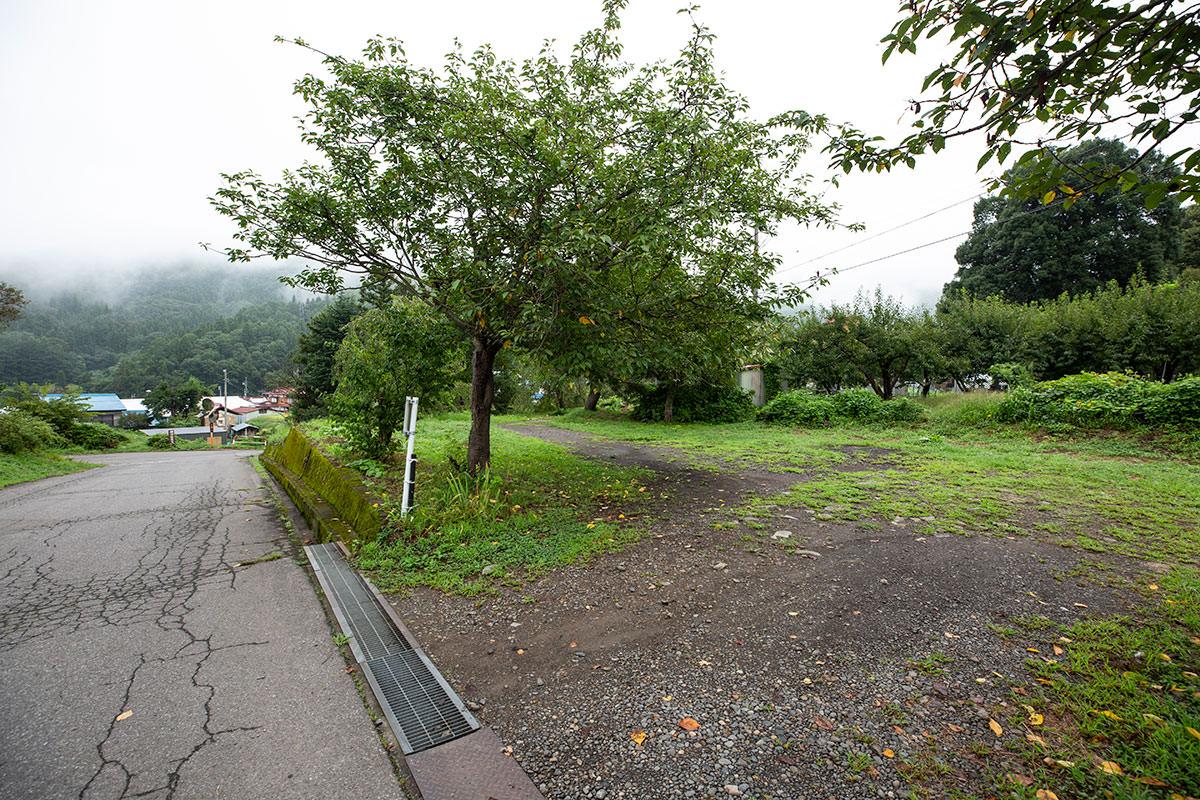 稲泉寺の第2駐車場
