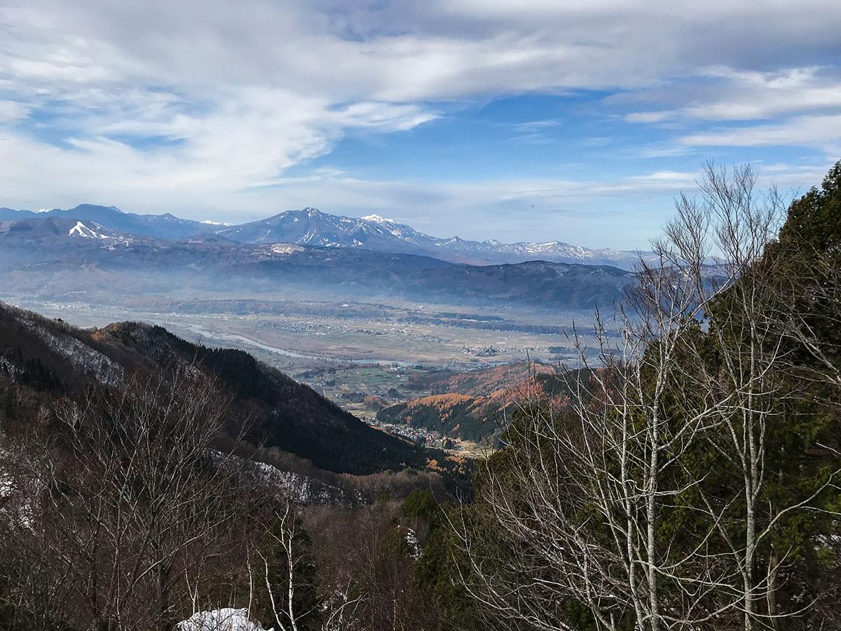 妙高山がクッキリと見える