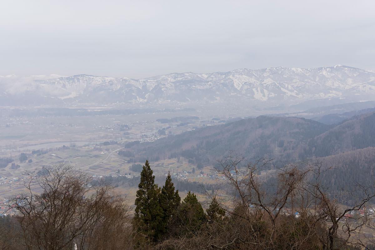 万仏山-飯山市の北の方