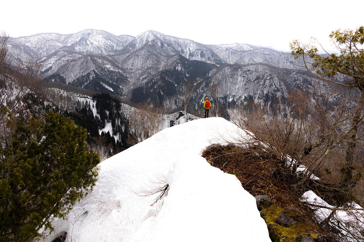 万仏山-南峰に着いた