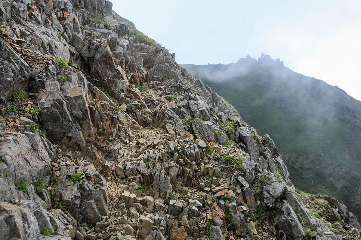 【南八ヶ岳 南北縦走】登山百景-そして狭くなる