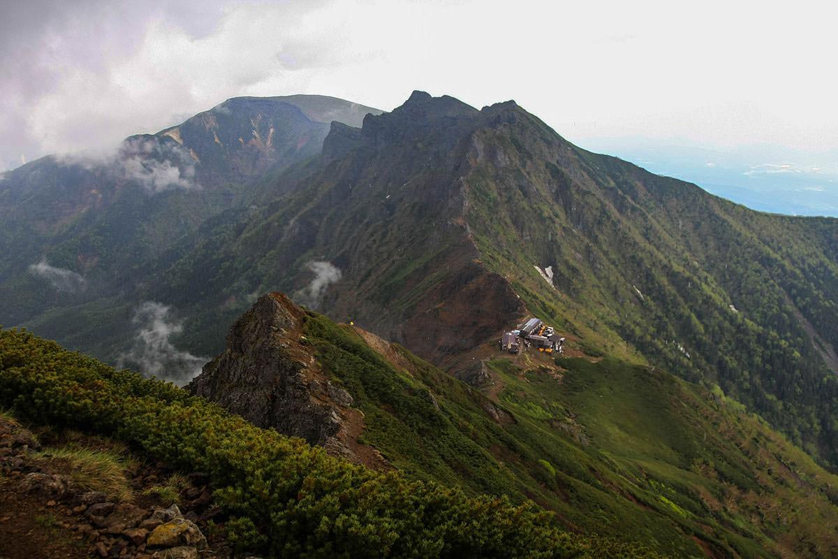 【南八ヶ岳 南北縦走】登山百景-横岳と硫黄岳