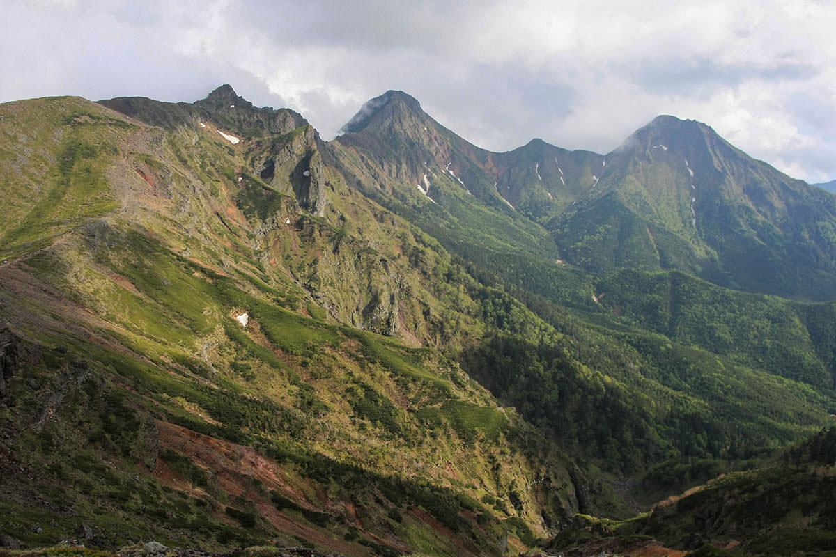 【南八ヶ岳 南北縦走】登山百景-八ヶ岳を振り返る