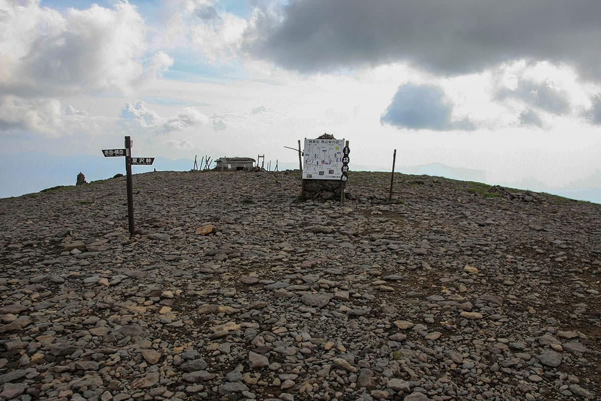 【南八ヶ岳 南北縦走】登山百景-硫黄岳山頂