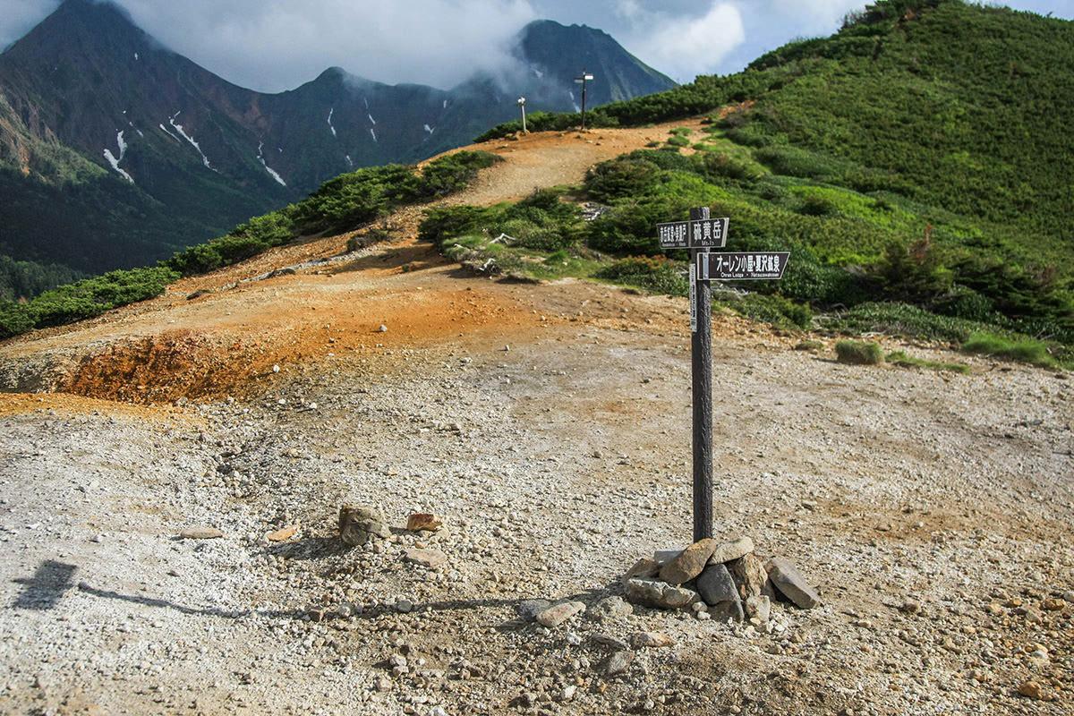 【南八ヶ岳 南北縦走】登山百景-赤岩の頭