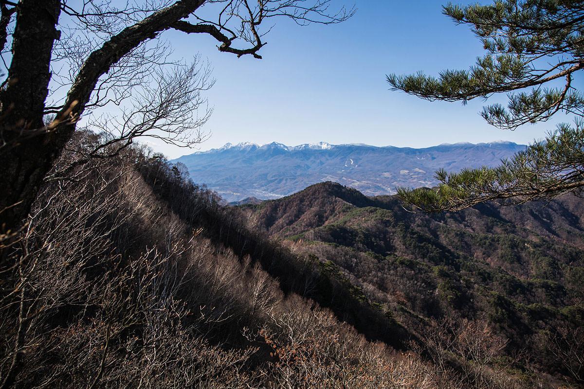 【茂来山】登山百景-八ヶ岳が見える