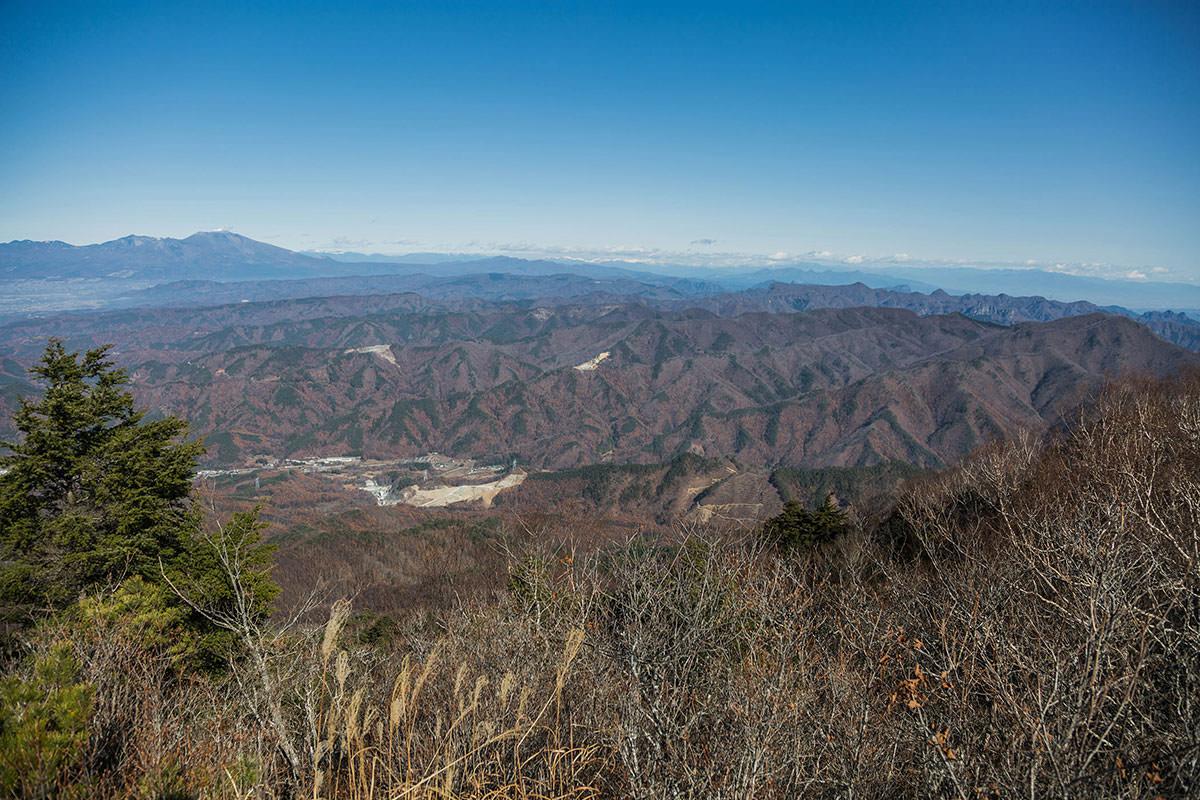 【茂来山】登山百景-東側の景色