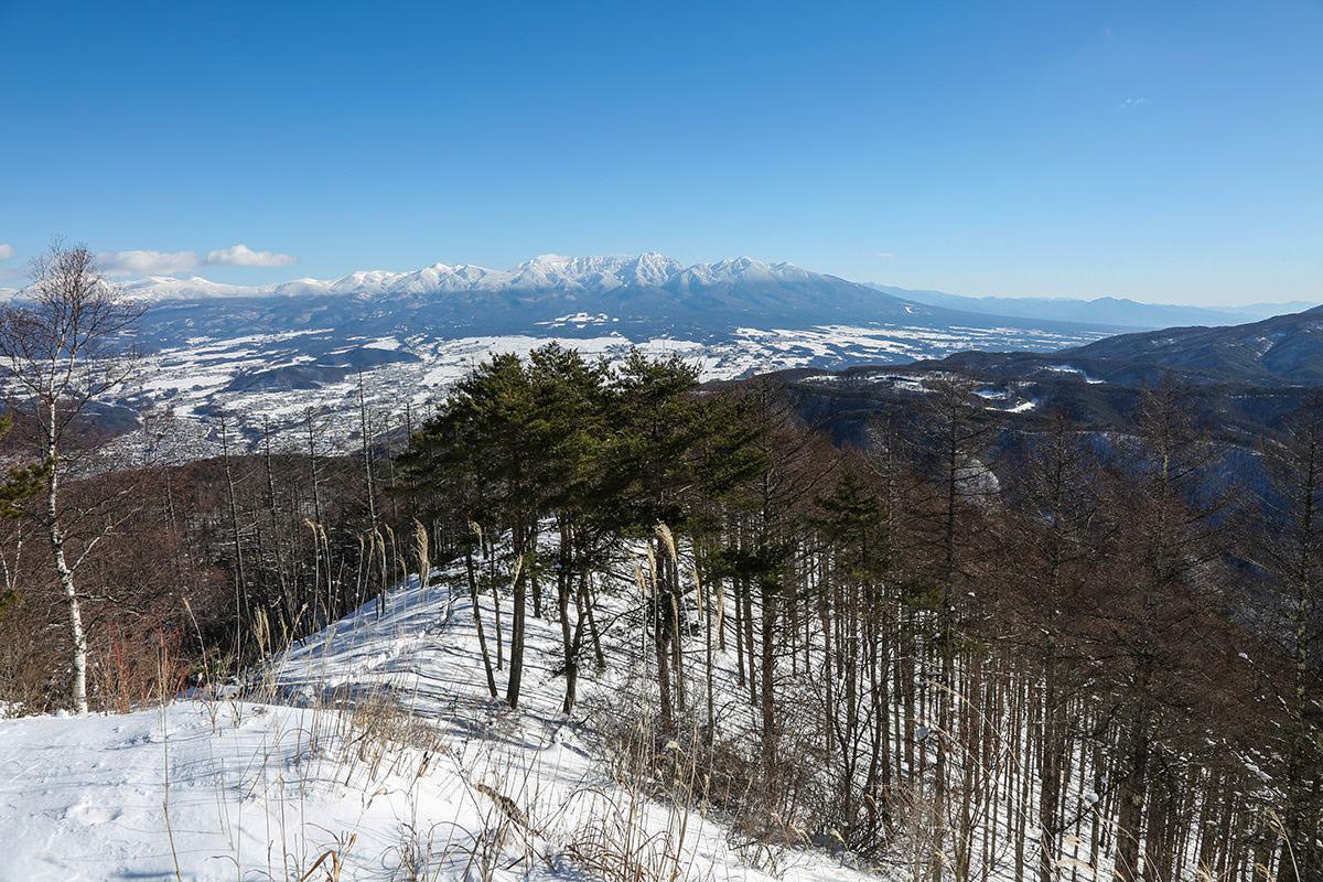 八ヶ岳白い