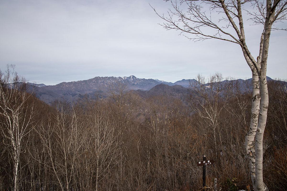 戸隠連峰と妙高山と黒姫山