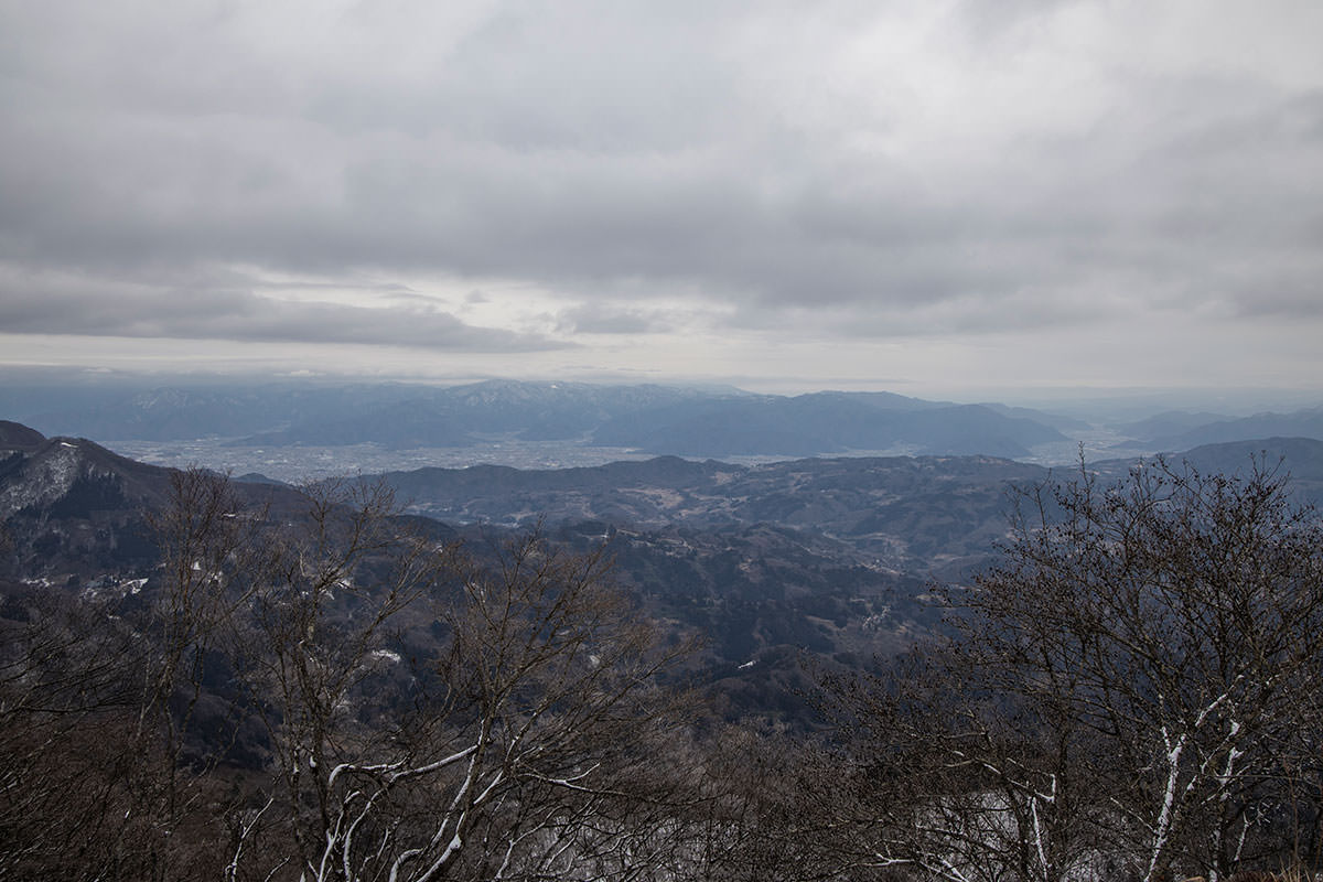 東の方の景色