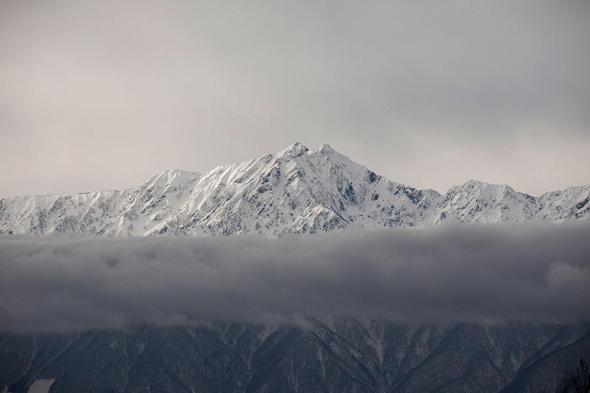 鹿島槍ヶ岳が近い