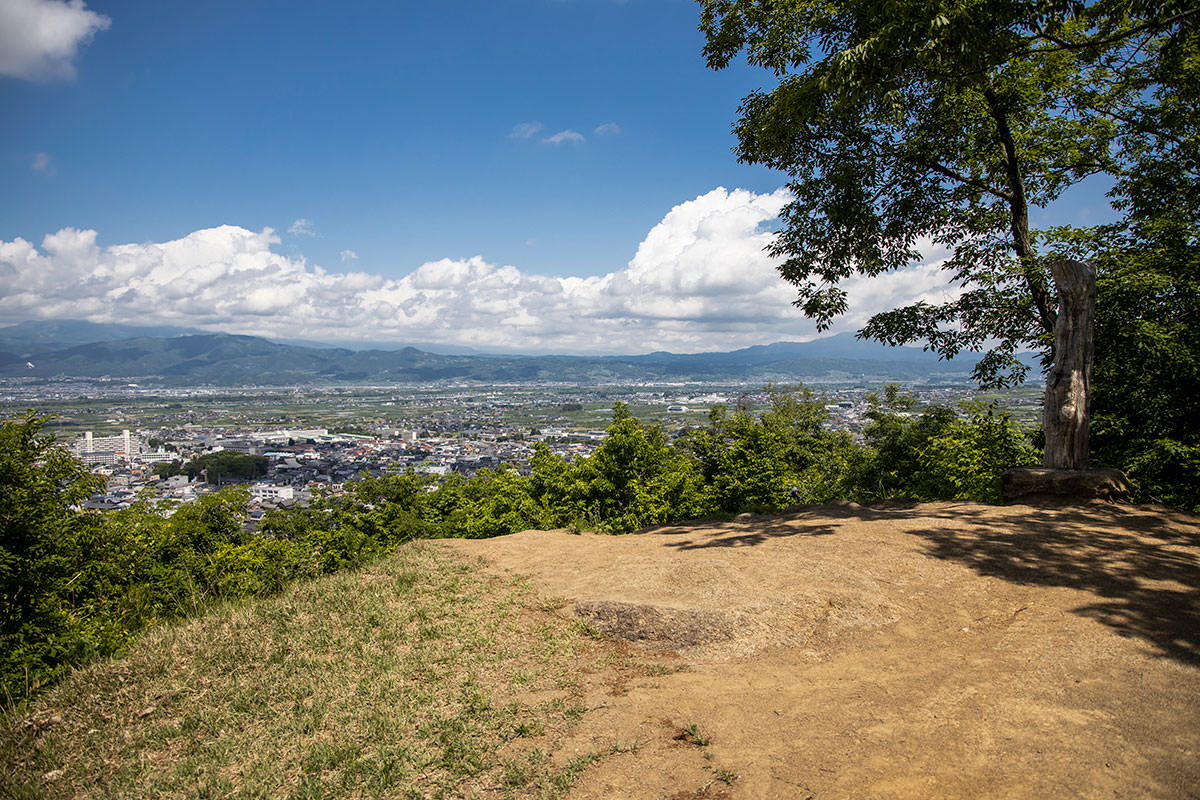 鎌田山からの眺め