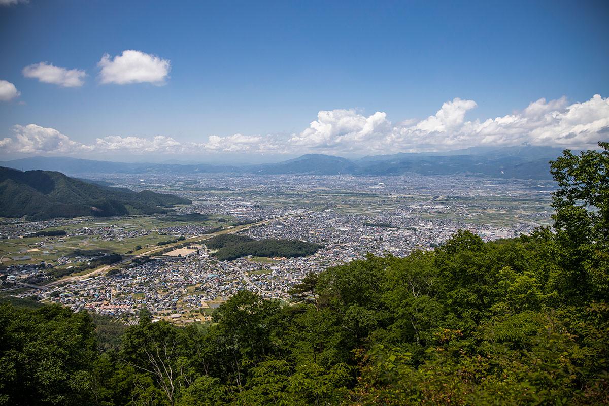 坂田山からの眺め
