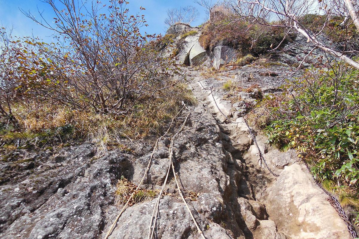 【妙高山】登山百景-順番によじ登る