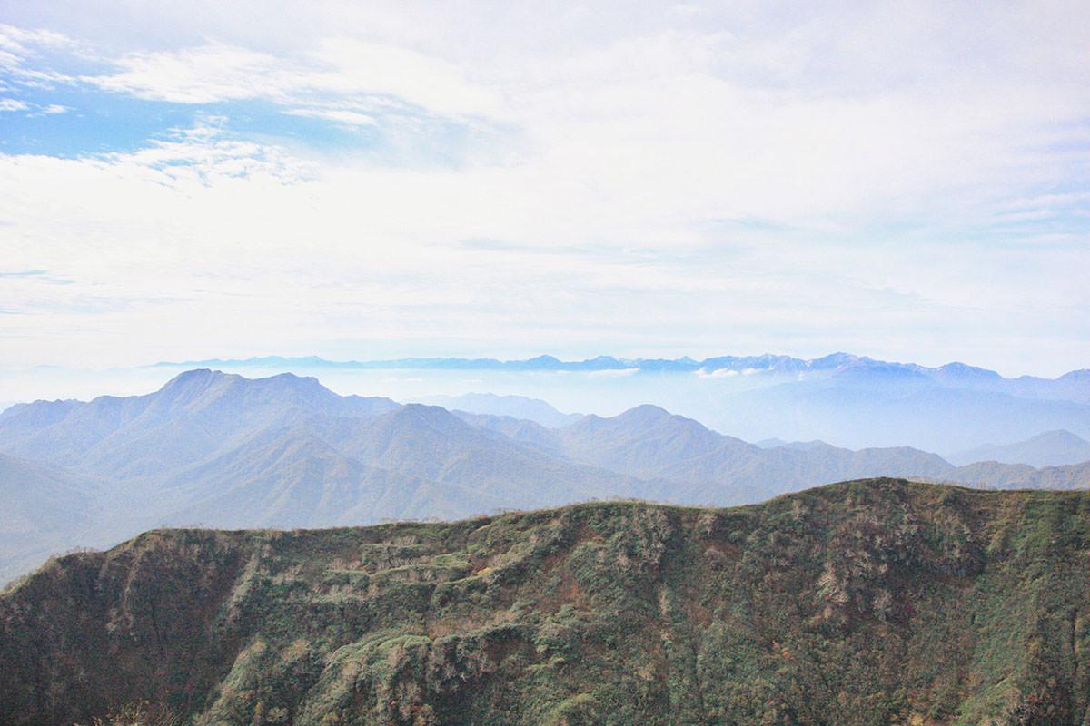 【妙高山】登山百景-西の方