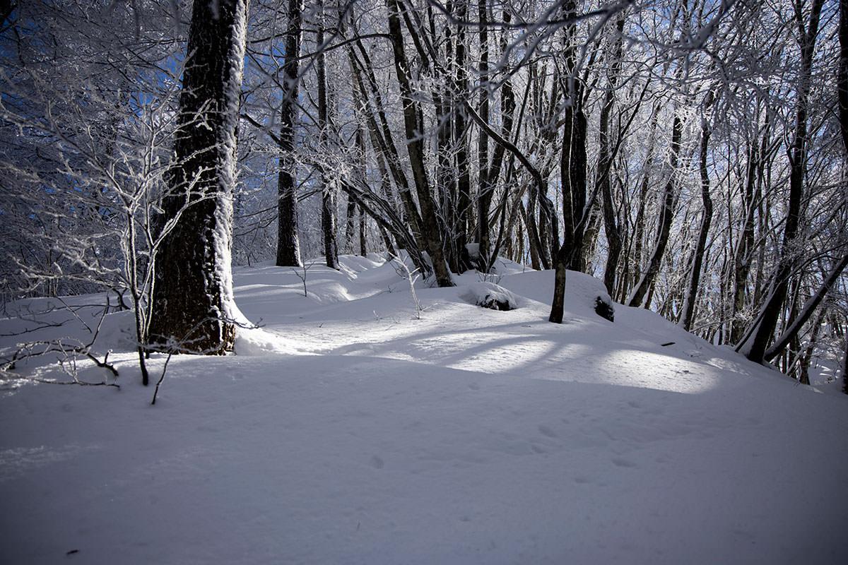 とても雪が深い