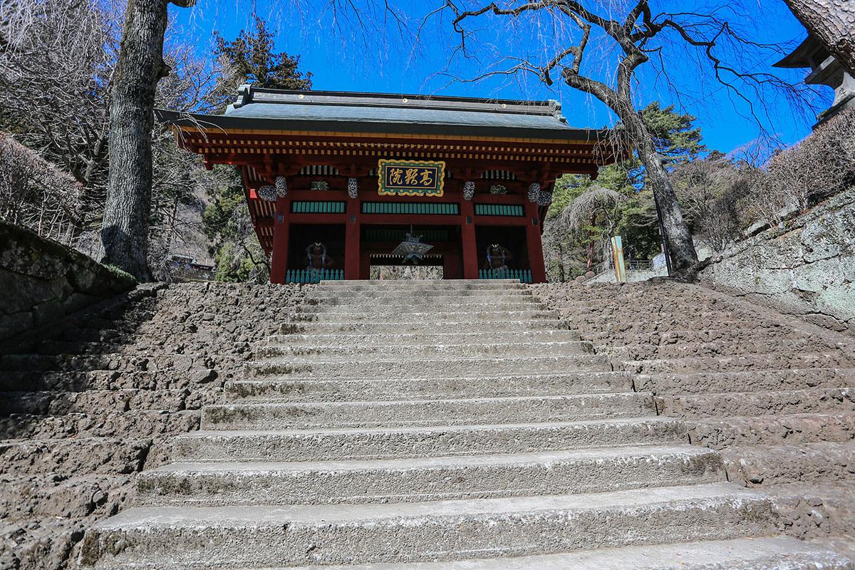 【妙義山】登山百景-門を通っていく