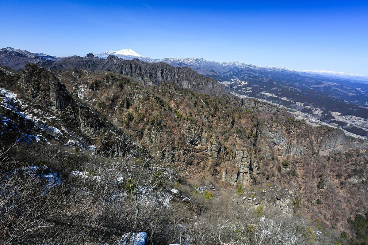 【妙義山】登山百景-稜線からの眺め