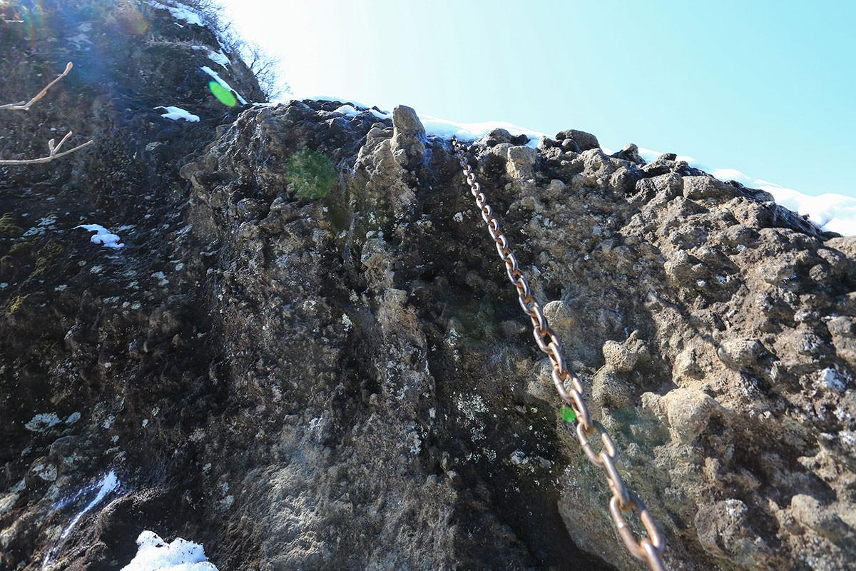 【妙義山】登山百景-玉石の鎖場