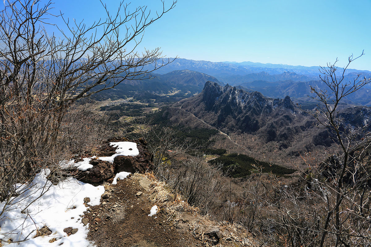 【妙義山】登山百景-振り返る