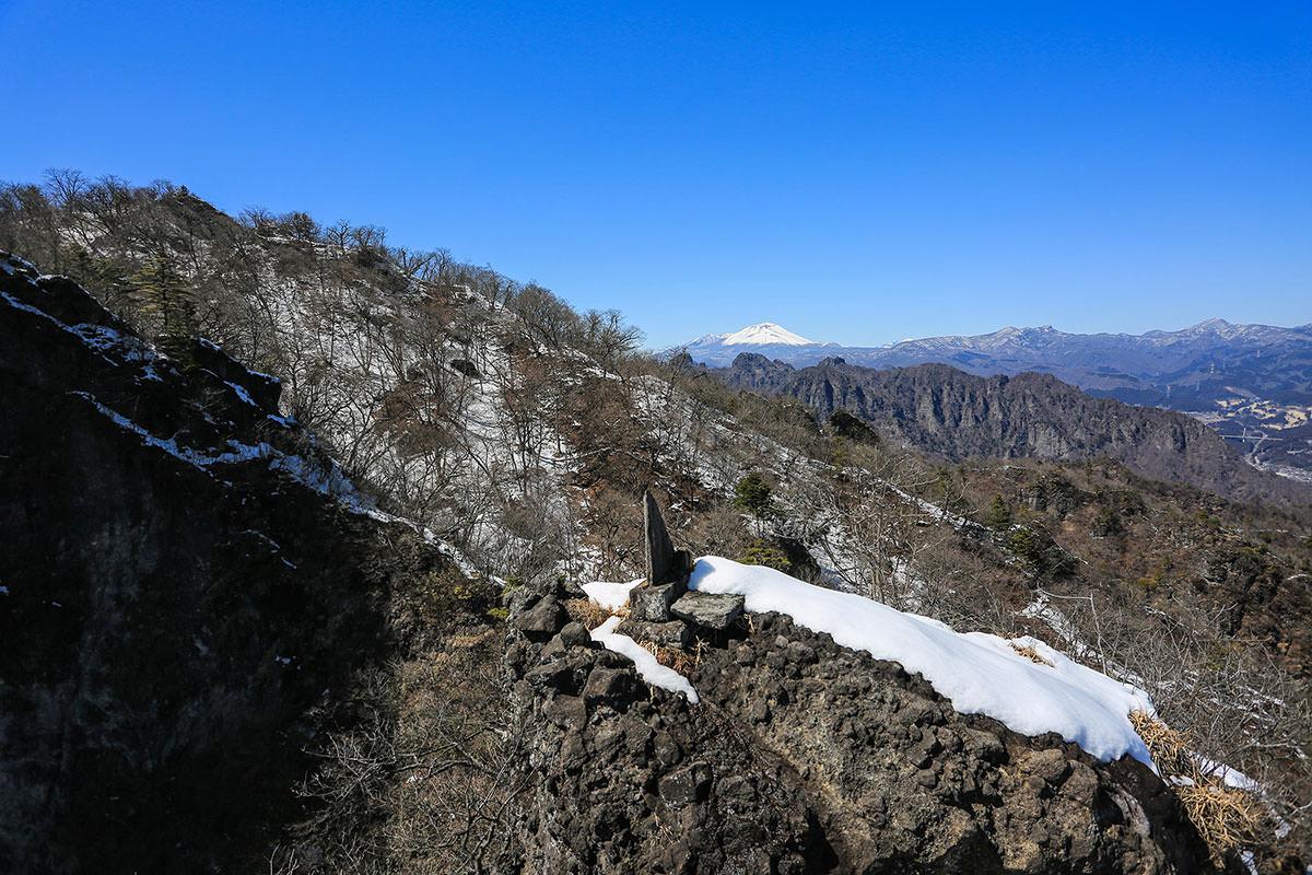 【妙義山】登山百景-あの先を越える
