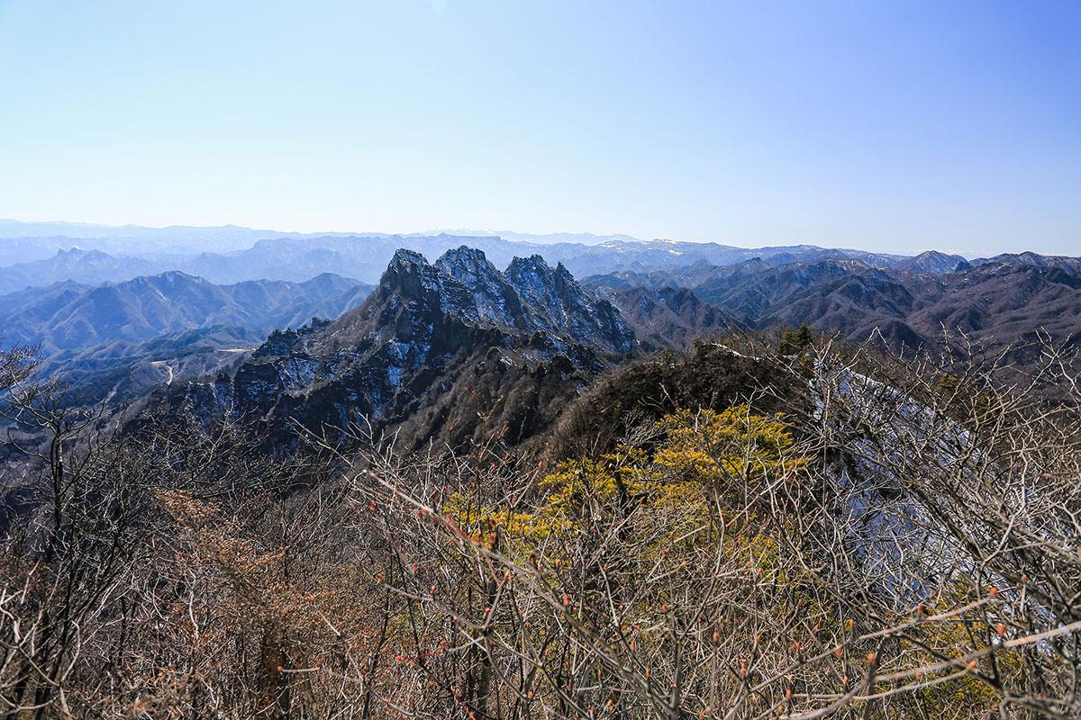【妙義山】登山百景-金洞山と八ヶ岳