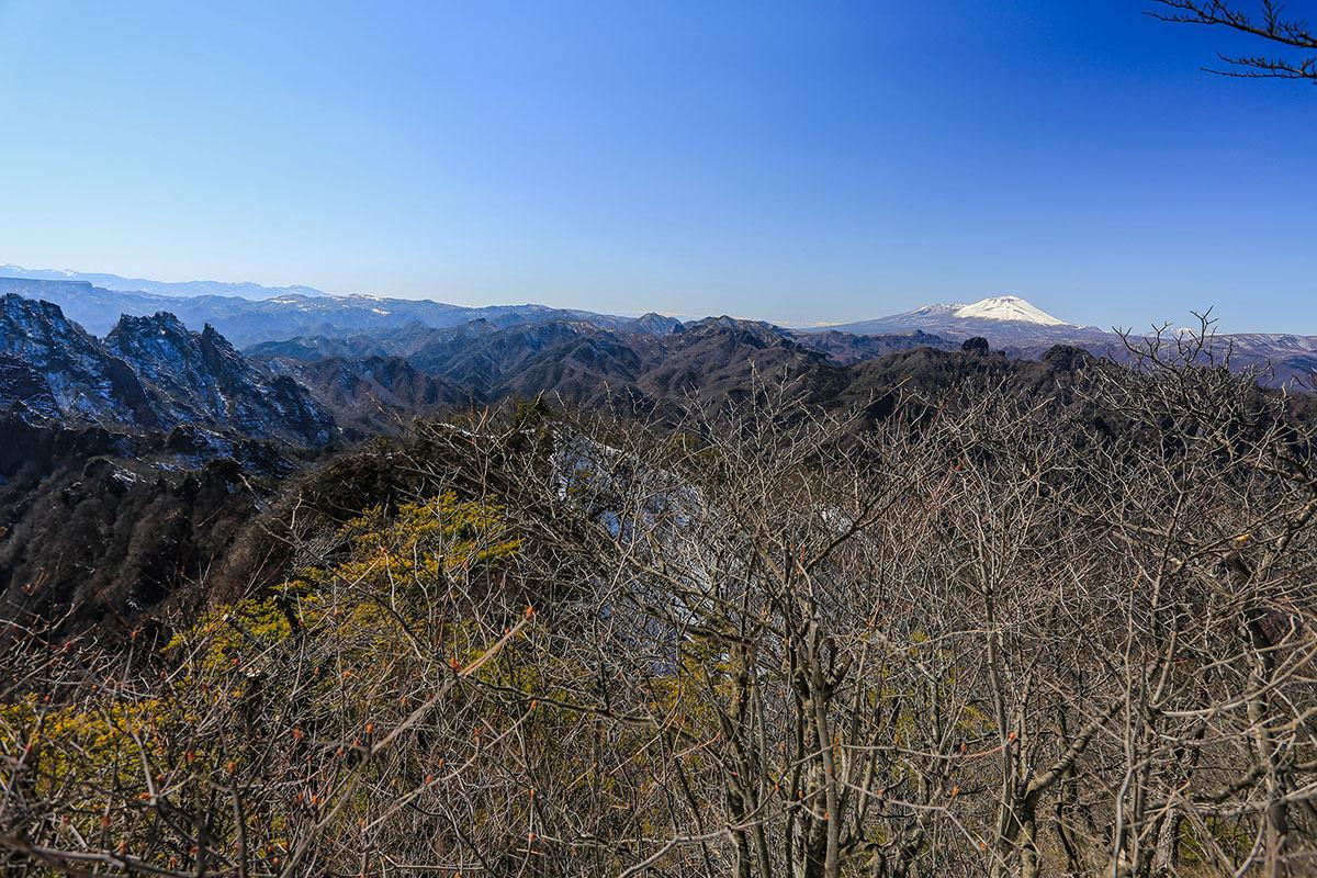 【妙義山】登山百景-浅間山の方