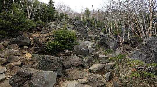 男体山 二荒山神社登山口