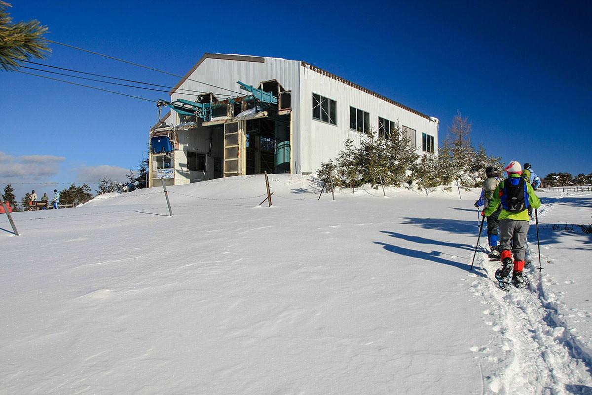 【根子岳 峰の原高原コース】登山百景-リフト降り場に到着