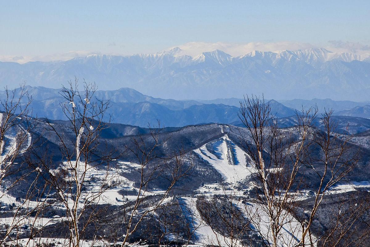 【根子岳 峰の原高原コース】登山百景-常念岳方面