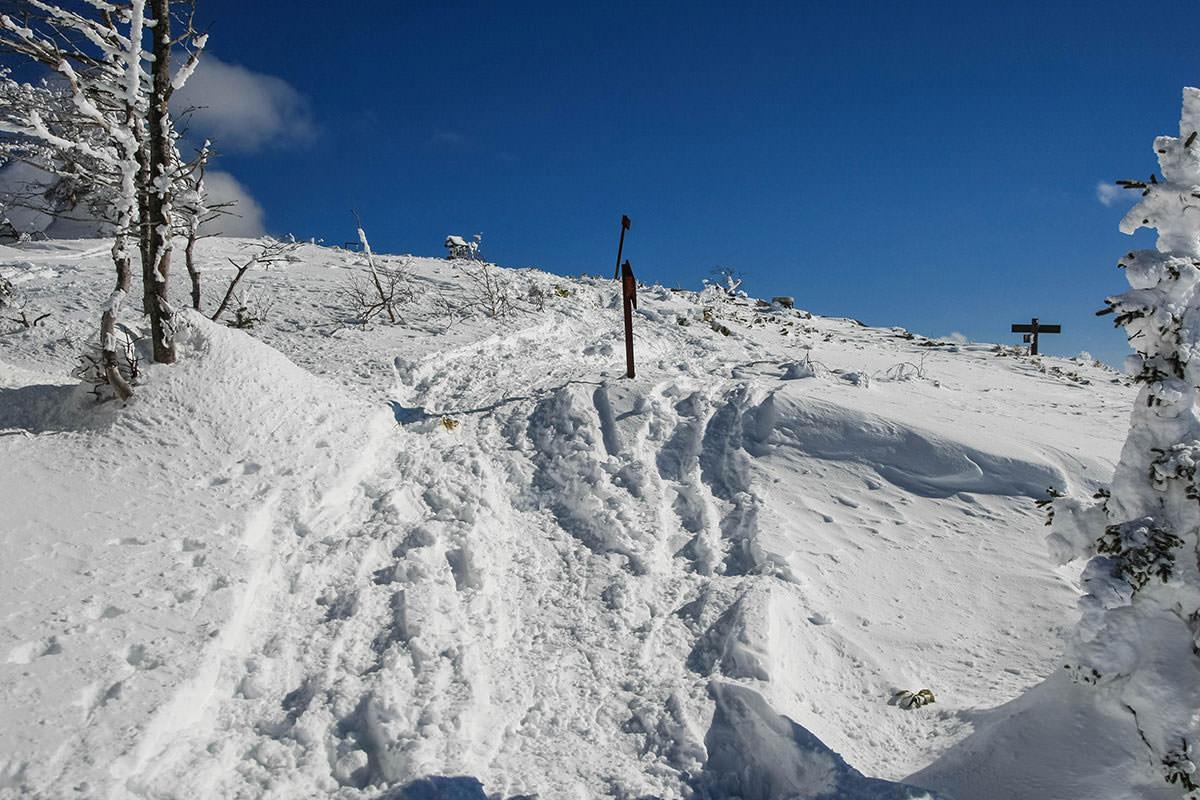 【根子岳 峰の原高原コース】登山百景-樹氷の中を抜けた