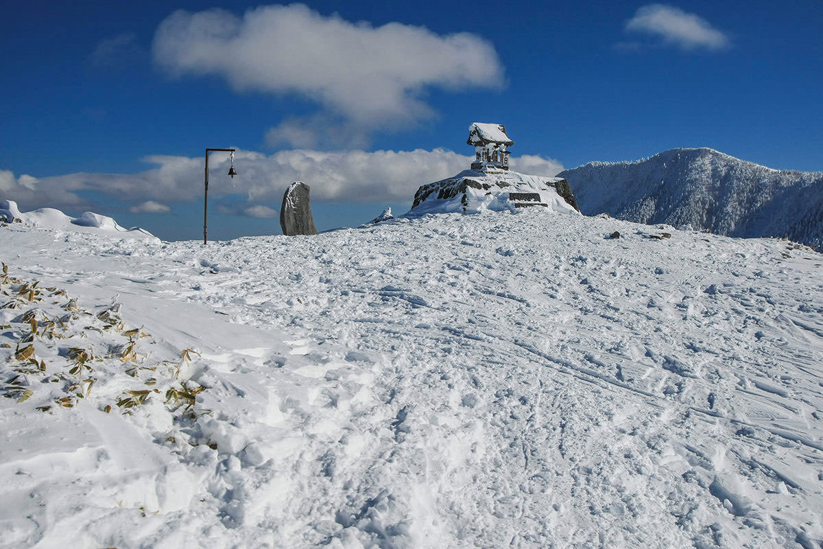 【根子岳 峰の原高原コース】登山百景-山頂到着