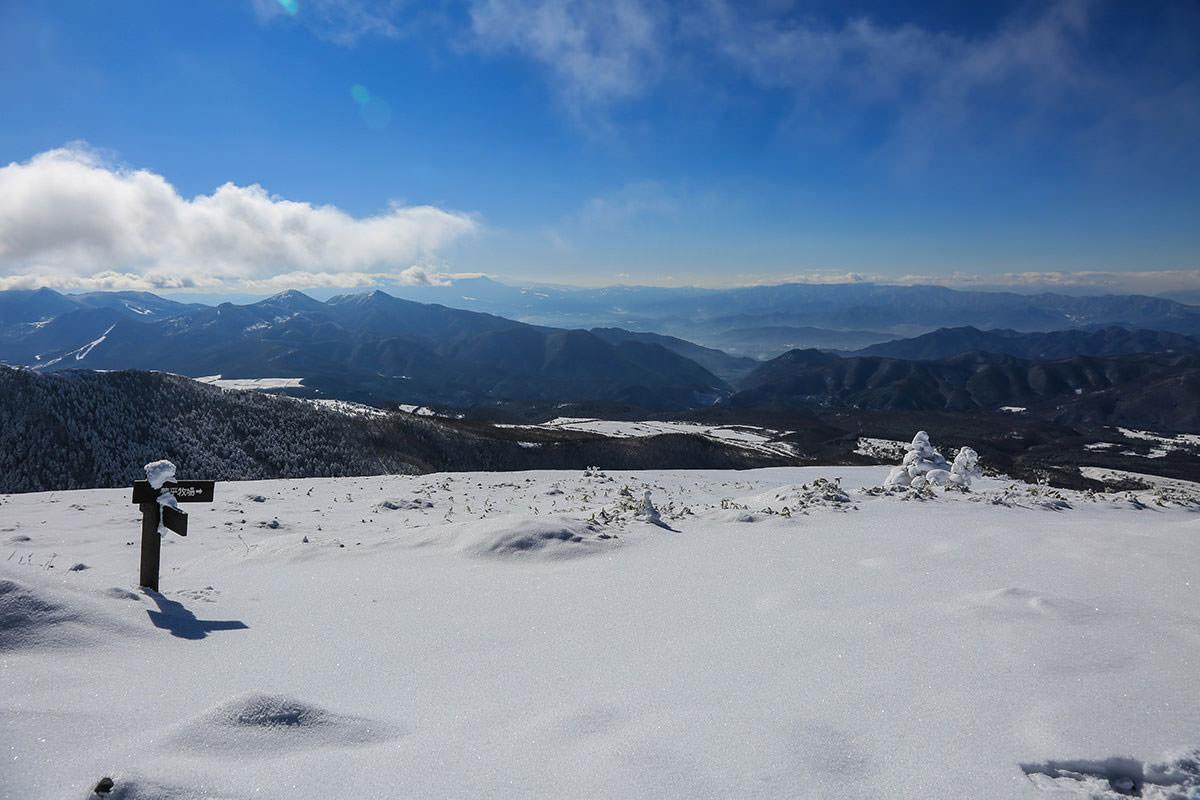 【根子岳 菅平高原】登山百景-上田方面