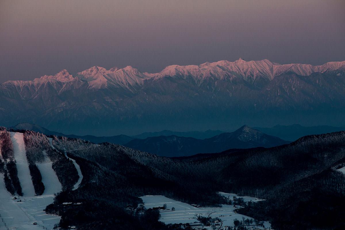 槍ヶ岳と穂高岳