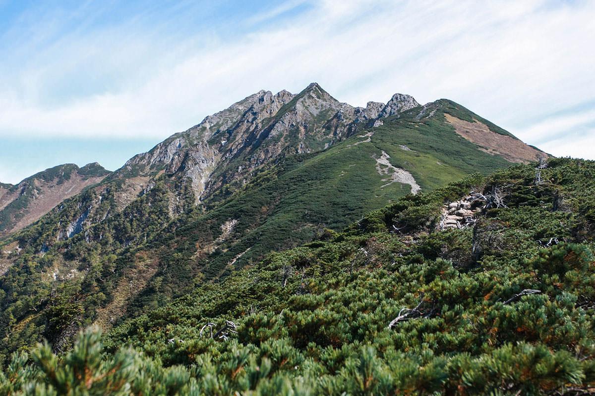 【西穂高岳】登山百景-西穂岳が見える