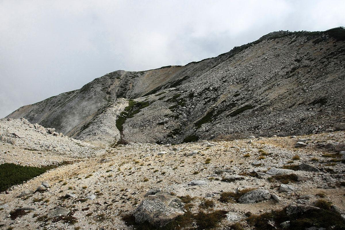 山頂が近い