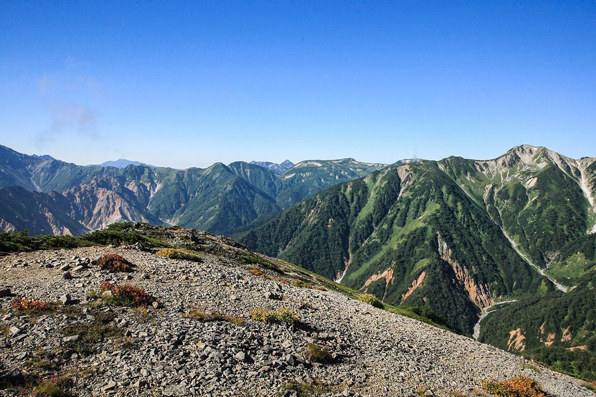 南真砂岳からの眺め