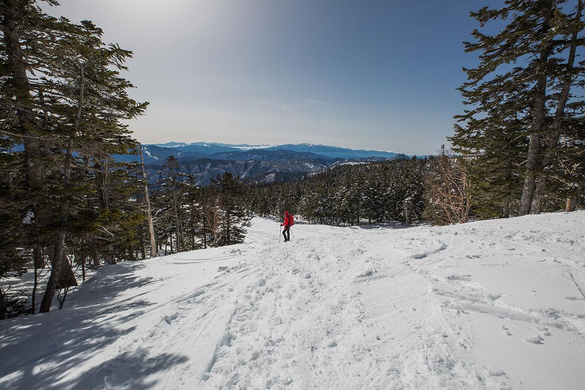 【乗鞍岳 Mt.乗鞍スノーリゾート】登山百景-振り返る