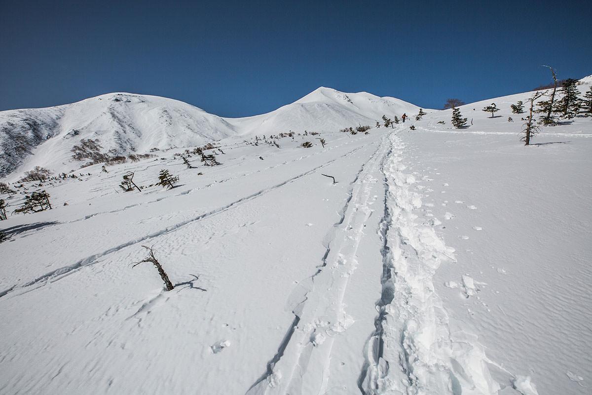 【乗鞍岳 Mt.乗鞍スノーリゾート】登山百景-森林限界に出た