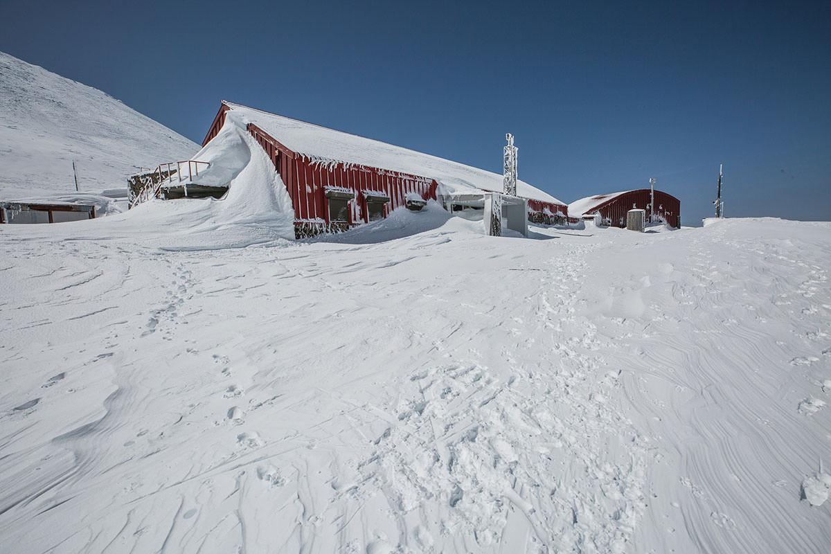 【乗鞍岳 Mt.乗鞍スノーリゾート】登山百景-この裏へ回る